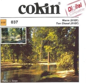 Cokin Filter Farbkorrektur warmton 81EF A-Series (WA1T037)