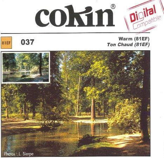 Cokin Filter Farbkorrektur warmton 81EF (WA1T037/WP1R037) -- via Amazon Partnerprogramm