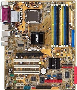 ASUS P5GDC Deluxe, i915P (dual PC-3200 DDR/dual PC2-4200U DDR2) (90-MBL0G0-G0EAY0)