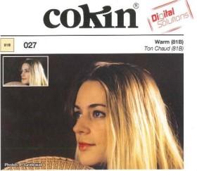 Cokin Filter Farbkorrektur warmton 81B KR2.5 A-Series (WA1T027)