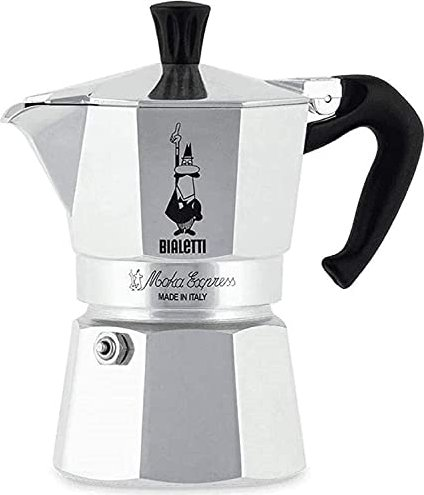 Bialetti Moka Express 1 Tasse Espressokanne (1161) -- via Amazon Partnerprogramm