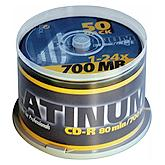 BestMedia Platinum CD-R 80min/700MB,  100er-Pack thermal printable