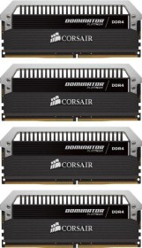 Corsair Dominator Platinum DIMM Kit 32GB, DDR4-2400, CL14-16-16-31 (CMD32GX4M4A2400C14)