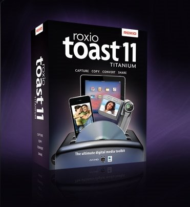 Adaptec/Roxio: toast 11.0 titanium (English) (MAC) (247010EU)