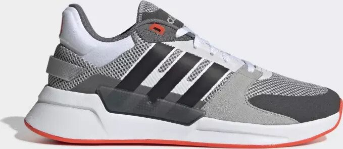 Perplejo Ropa Rizo  adidas Run 90s grey two/core black/solar red (men) (EE9871) starting from £  76.00 (2021)   Skinflint Price Comparison UK