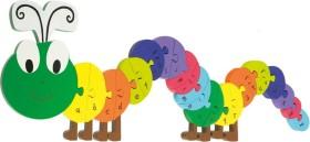 Nici Orange Tree Toys - ABC Puzzle Raupe (46009)