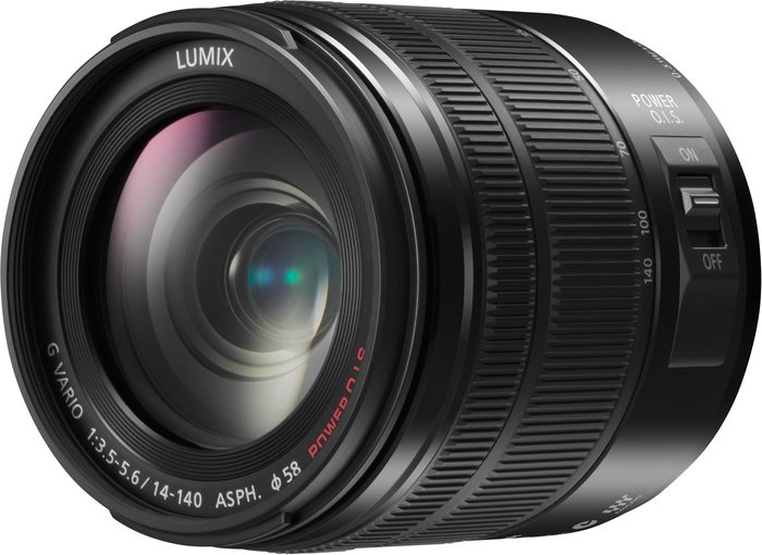 Panasonic Lumix G vario 14-140mm 3.5-5.6 ASPH OIS black (H-FS14140E)