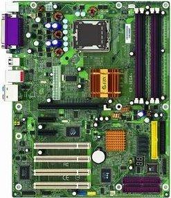 EPoX EP-5EGA+, i915G (dual PC-3200 DDR)