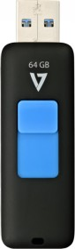 V7 J154443 Slider 64GB, USB-A 3.0 (VF364GAX-BLK-3E)
