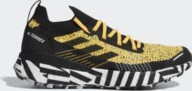 adidas Terrex Two Ultra Parley solar gold/core black/cloud white (Herren) (FW7424)
