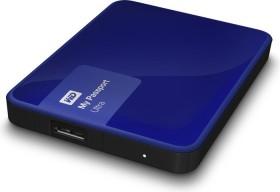 Western Digital WD My Passport Ultra Metal Edition blau 1TB, USB 3.0 Micro-B (WDBGPU0010BBL)