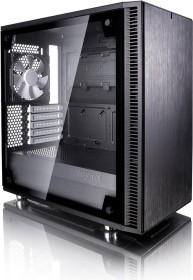 Fractal Design Define Mini C TG, Glasfenster, schallgedämmt (FD-CA-DEF-MINI-C-BK-TG)