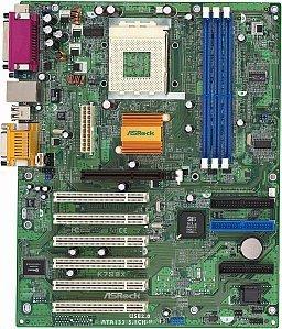 ASRock K7S8XE, SiS748 (PC-3200 DDR)