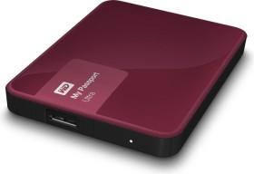 Western Digital WD My Passport Ultra Metal Edition rot 1TB, USB 3.0 Micro-B (WDBGPU0010BBY)