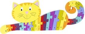 Nici Orange Tree Toys - ABC Puzzle Katze (46010)