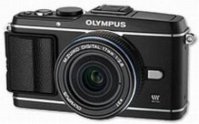 Olympus PEN E-P3 schwarz mit Objektiv M.Zuiko digital 17mm 2.8 Pancake (V204033BE000)