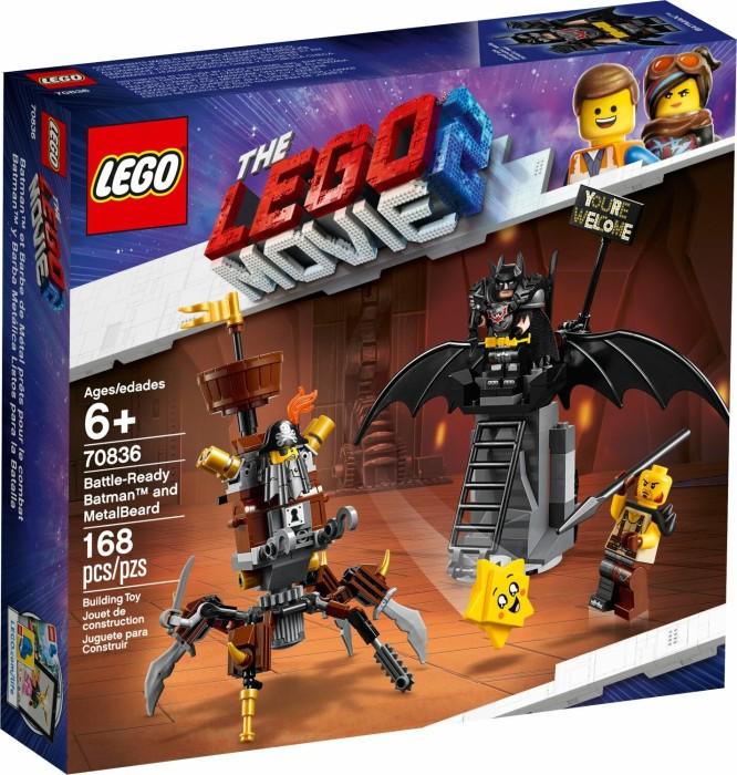 LEGO The Movie 2 - Battle-Ready Batman and MetalBeard (70836)