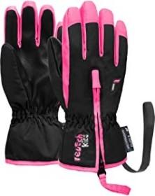 Reusch Ben Handschuhe black/knockout pink (Junior) (4685108-769)
