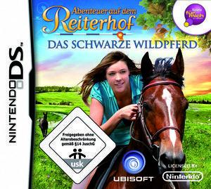 Abenteuer auf dem Reiterhof - Das schwarze Wildpferd (deutsch) (DS)