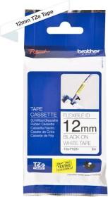 Brother TZe-FX231 labelling tape 12mm, black/white (TZEFX231)
