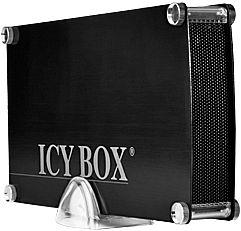 "RaidSonic Icy Box IB-351StUES2-B schwarz, 3.5"", USB-A 2.0/eSATA/FireWire (21405)"