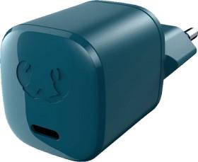 Fresh 'n Rebel USB-C 18W Mini Charger + Lightning Kabel Petrol Blue (2WC510PB)