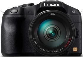 Panasonic Lumix DMC-G6 schwarz mit Objektiv Lumix G Vario 14-140mm 3.5-5.6 ASPH OIS (DMC-G6H)
