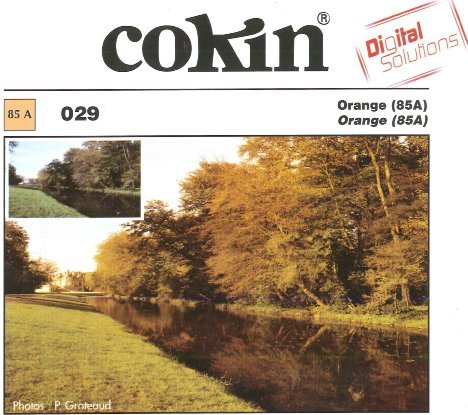 Cokin Filter Farbkorrektur orange 85A (WA1T029/WP1R029) -- via Amazon Partnerprogramm