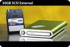OnStream SC30e 30GB extern/SCSI-MAC