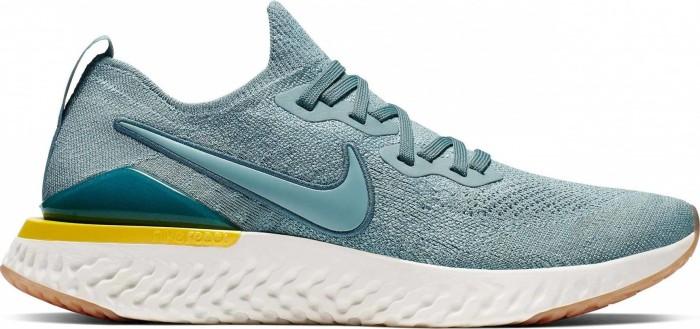 1dc2bb67 Nike Epic React Flyknit 2 aviator grey/black/blue fury/aviator grey ...
