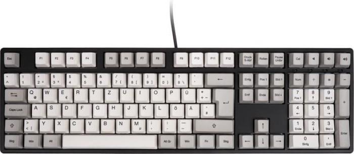 Ducky One White & Grey, MX RED, USB, DE (DKON1608-RDEPHZAB2)