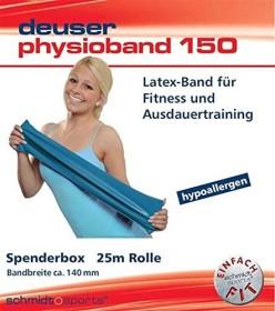 Deuser Physio Band 150 green lightweight 1.20m (111401)