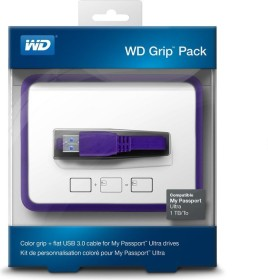 Western Digital WDBZBY0000NPL-EASN<br>Western Digital Grip pack Farbenfrohe mounting and suitable flat USB 3.0 cable for My Passport Ultra 1TB- Drives.