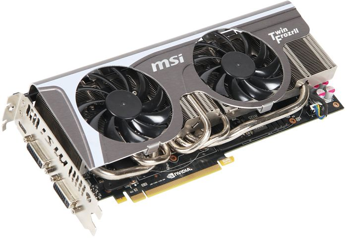 MSI N580GTX Twin Frozr II, GeForce GTX 580, 1.5GB GDDR5, 2x DVI, Mini HDMI