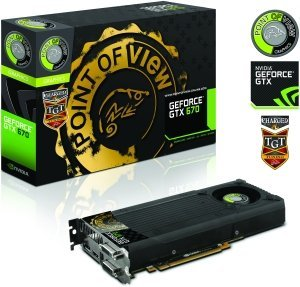 Point of View GeForce GTX 670 TGT Charged Single Fan, 2GB GDDR5, 2x DVI, HDMI, DisplayPort (TGT-670-A1-2-C)