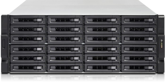 QNAP TVS-EC2480U-SAS-RP-8GE-R2, 2x 10Gb SFP+, 4x Gb LAN, 3HE
