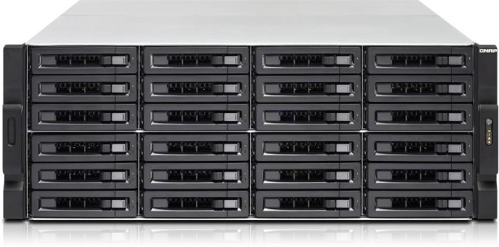 QNAP TVS-EC2480U-SAS-RP-16G-R2, 2x 10Gb SFP+, 4x Gb LAN, 4HE