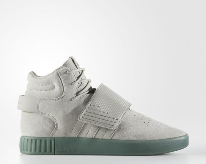 low priced c325c 2f32a adidas Tubular Invader Strap sesame/trace green (BY3635) ab € 39,99