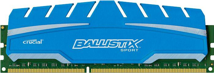 Crucial Ballistix Sports XT DIMM 4GB, DDR3-1600, CL9-9-9-24 (BLS4G3D169DS3CEU/BLS4G3D169DS3J)