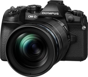 Olympus OM-D E-M1 Mark II schwarz mit Objektiv M.Zuiko digital ED 12-100mm (V207060BE010)