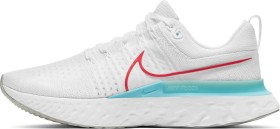 Nike React Infinity Run Flyknit 2 white/glacier ice/photon dust/chile red (Herren) (CT2357-102)