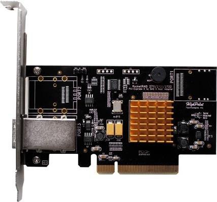 HighPoint RocketRAID 2711, PCIe 2.0 x8