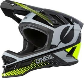 O'Neal Blade Polyacrylite Ace Fullface-Helm schwarz/gelb/grau (0453-55)