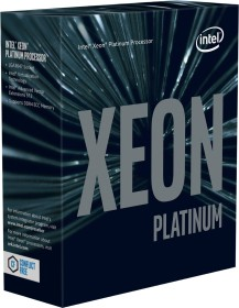 Intel Xeon Platinum 8160, 24C/48T, 2.10-3.70GHz, boxed ohne Kühler (BX806738160)