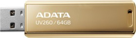 ADATA UV260 Gold 64GB, USB-A 2.0 (AUV260-64G-RGD)