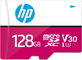 PNY HP mxV30 R100/W85 microSDXC 128GB Kit, UHS-I U3, Class 10 (HFUD128-1V30A)