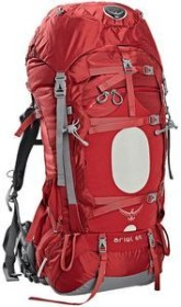 Osprey Ariel 65 red (ladies)