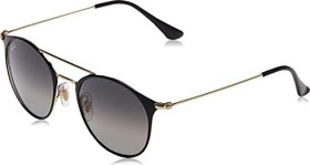 Ray-Ban RB3546 52mm black-gold/grey gradient (RB3546-187/71)