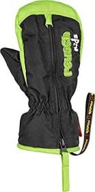 Reusch Ben Mitten Handschuhe black/neon green (Junior) (4685408-716)