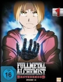 Fullmetal Alchemist Brotherhood Vol. 1 (DVD)